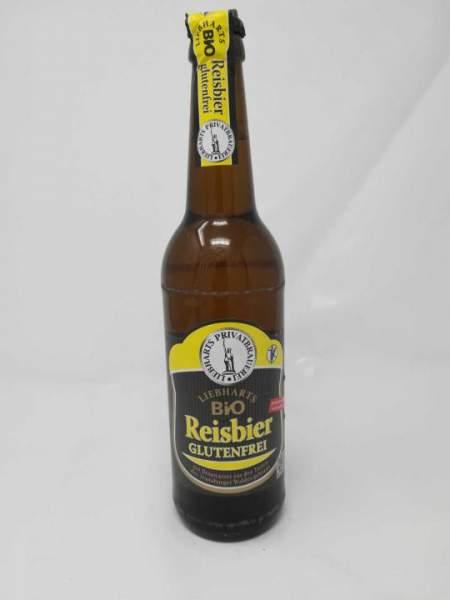 LIEBHARTS Bio-Reisbier - glutenfrei